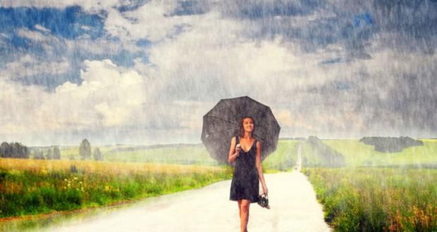 باران می بارد
